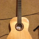Classical guitar handmade by Mike Regan